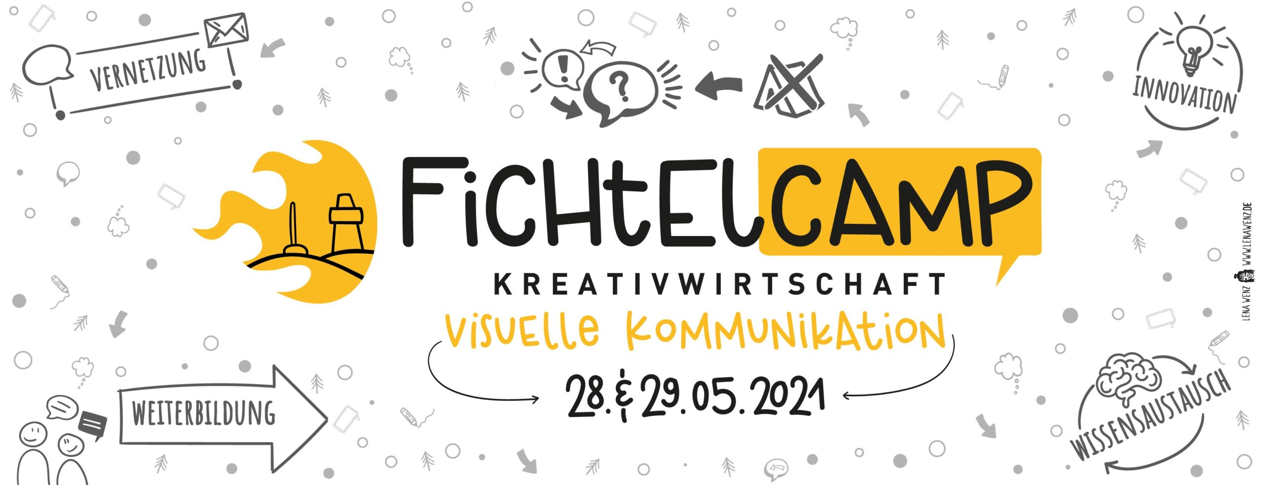 "Fichtelcamp 2021 ""Visuelle Kommunikation"""